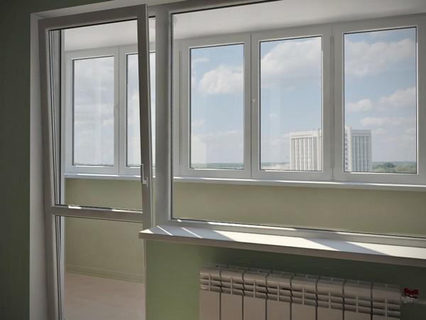 Остекление балконов. Скрома Кобрин